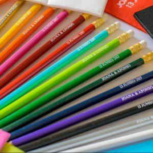Lápis para eventos e empresas
